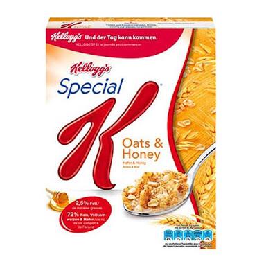 kellogg's special K oats & honey 209 g