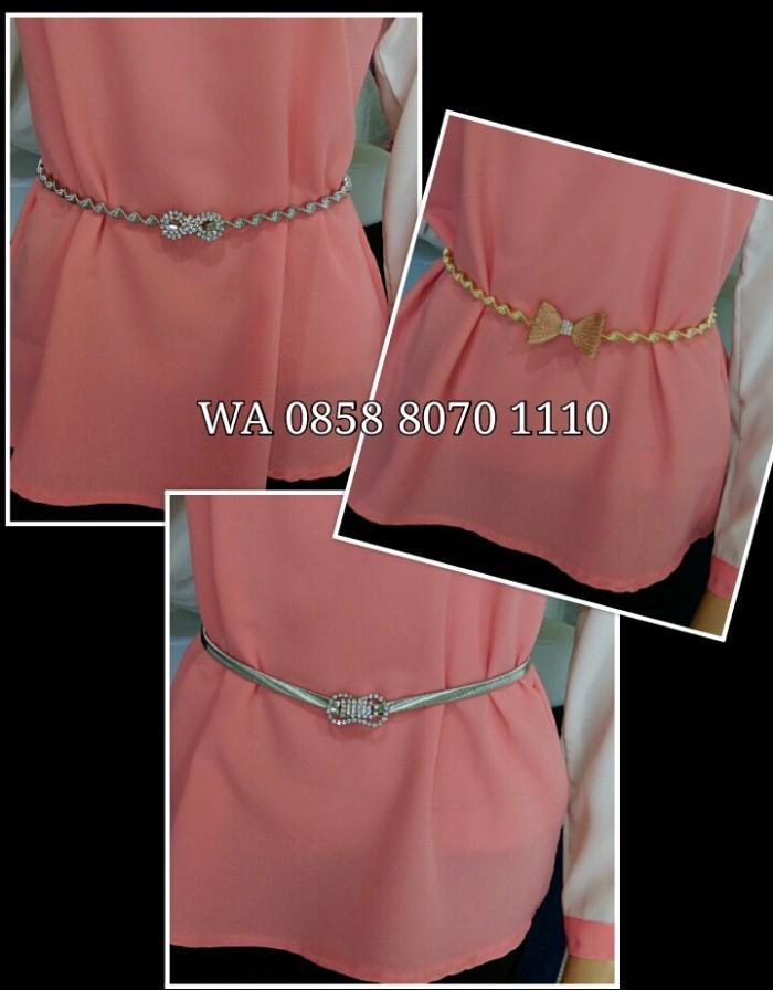 Nagada Kalung Fashion Korea Asesoris Wanita AJ3. Source · Belt swarovsky elastis / ikat pinggang