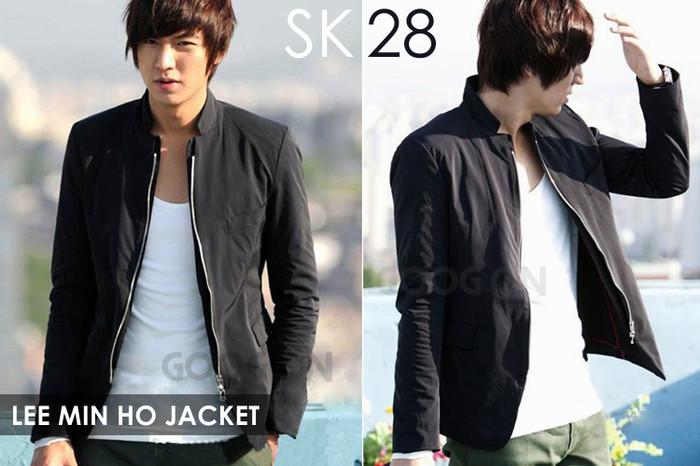 Jaket Bomber/ Jaket Kulit/ Jaket Parka/ Jaket Lee Min Hoo SK - 28