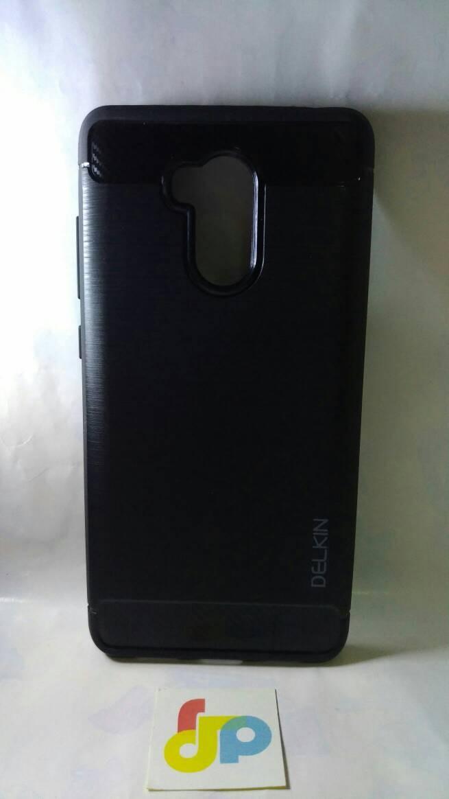 Xiaomi redmi 4s casing softcase carbon delkin full