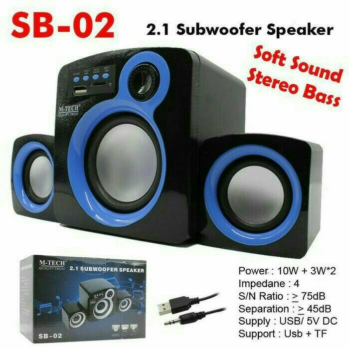 harga Speaker aktif m-tech subwoofer sb-02 Tokopedia.com