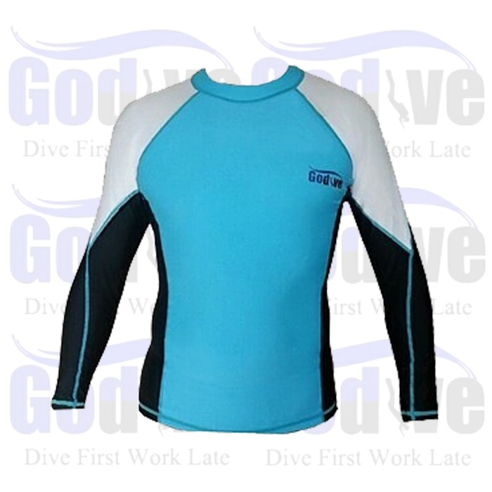 harga Alat selam godive diving snorkeling long sleeve rash guard sl-011 Tokopedia.com