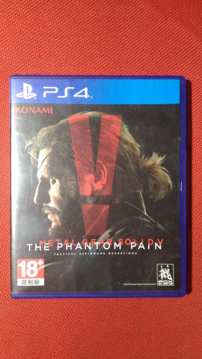 Jual Kaset Game Bd Ps4 Ps 4 Metal Gear Solid V Phantom Pain 2nd Ps4metal Reg 2