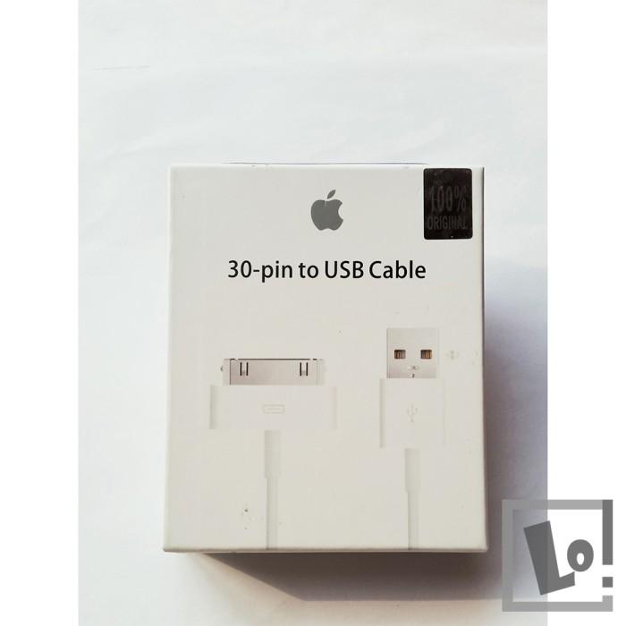 harga Kabel data charger iphone ipad ipod 1 2 3 3g 4 4s nano touch original Tokopedia.com