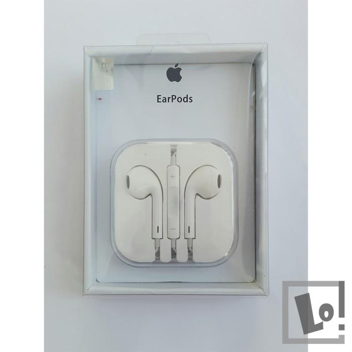 harga Headset earphone earpod earpods iphone 5 5s 6 6s 6s+ 6+ original Tokopedia.com