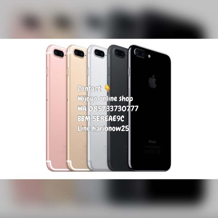 harga [murah]iphone7 128 gb silver Tokopedia.com