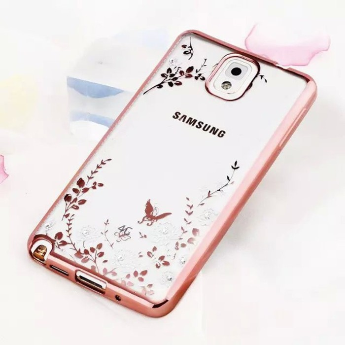 harga Casing flower bling silicon soft case samsung galaxy note 3 diamond Tokopedia.com
