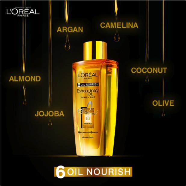 harga Loreal extraordinary oil 100ml (100x pemakaian) serum vitamin rambut Tokopedia.com