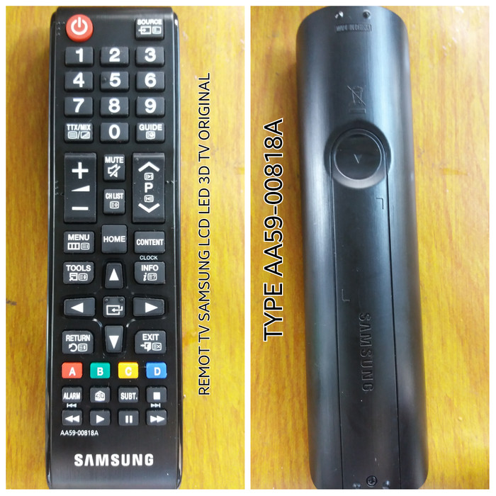 REMOT/REMOTE TV SAMSUNG LCD/LED ORIGINAL TYPE AA59-00818A
