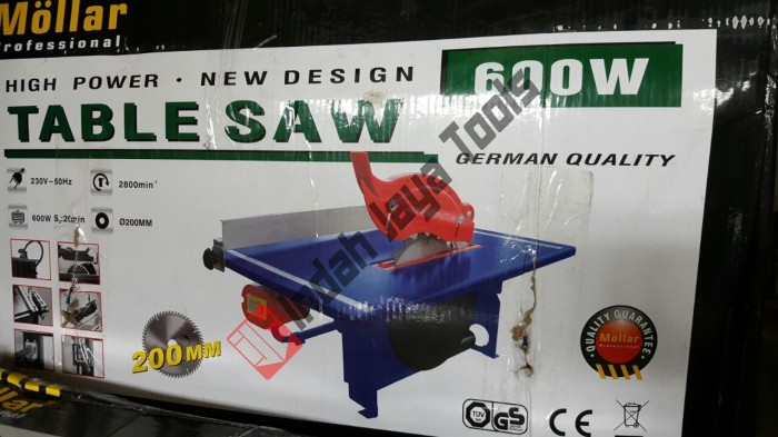 harga Table saw mollar 200 mm 8 inch / mesin gergaji duduk meja Tokopedia.com