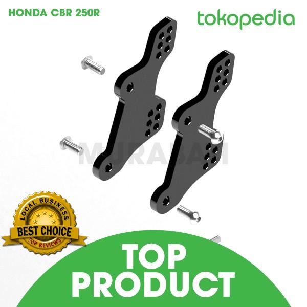 harga Raiser footstep honda cbr250   dudukan foot step racing cbr 250 r fi Tokopedia.com