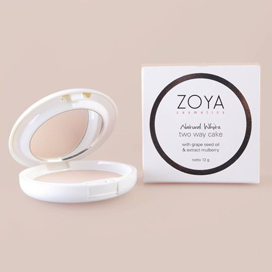 ZOYA COSMETICS TWO WAY CAKE NATURAL WHITE SERIES