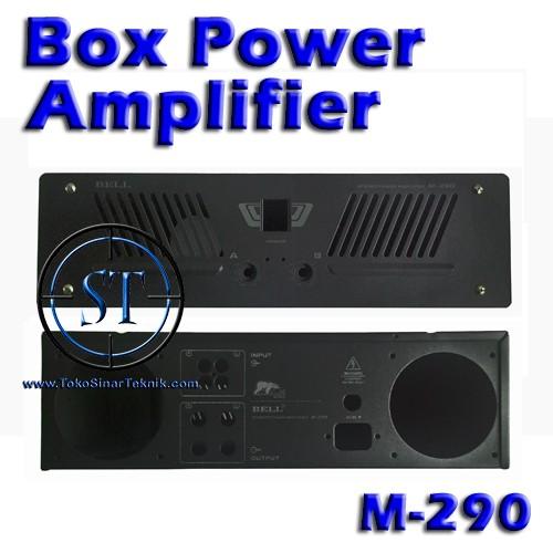 harga Box power amplifier m-290 box amply m-290 Tokopedia.com