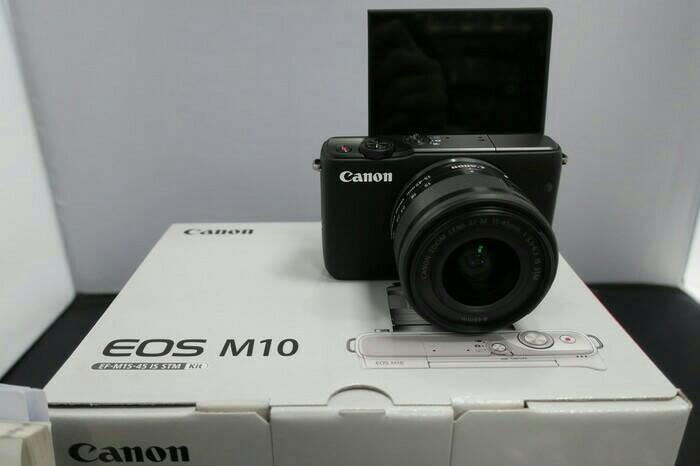 harga Kamera canon m10 kit 15 - 45 stm Tokopedia.com