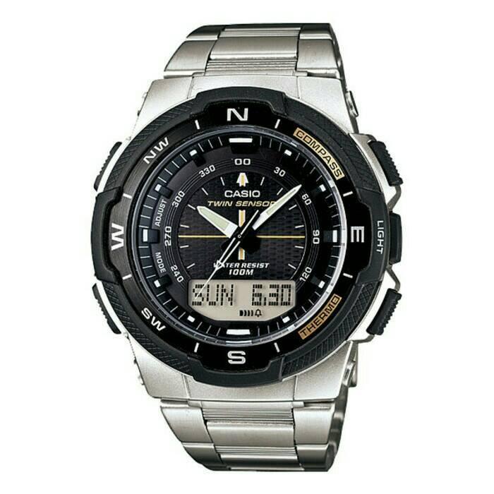 harga Casio outgear sgw-500hd-1bv / sgw500hd original & bergaransi - silver Tokopedia.com