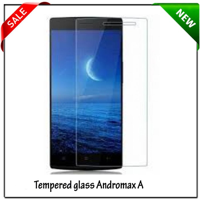 Andromax A2 / Max A2 Screen Protector Tempered Glass .