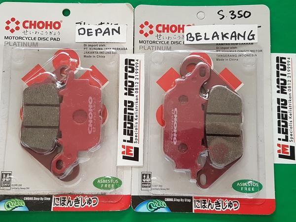 harga Paket nmax kampas rem cakram depan + belakang n-max disc pad choho Tokopedia.com
