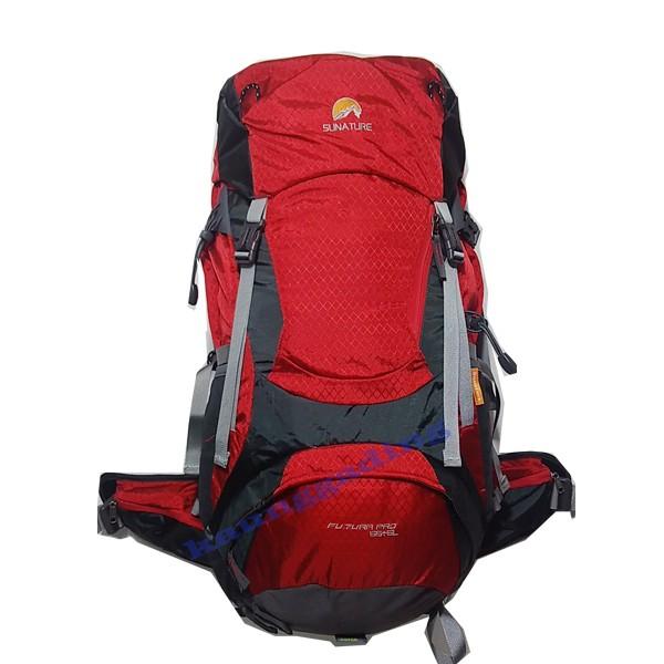 harga Tas gunung / carrier / keril sunature futura pro 55+5 liter merah Tokopedia.com