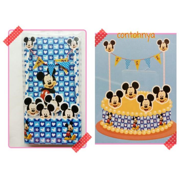harga Topper kue ulang tahun karakter mickey mouse Tokopedia.com