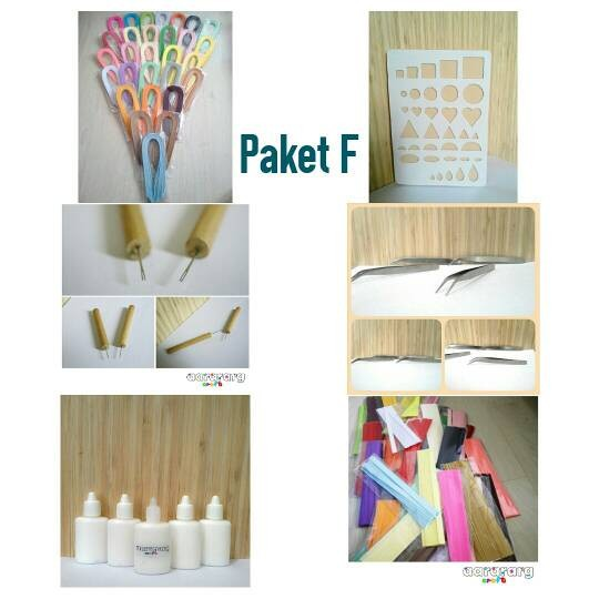 harga Paper quilling set f Tokopedia.com