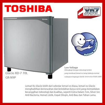 Lemari Es Toshiba Glacio XD7 GR-N9P