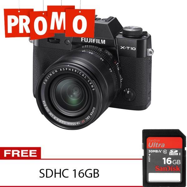 harga Fujifilm x-t10 kit 18-55mm Tokopedia.com