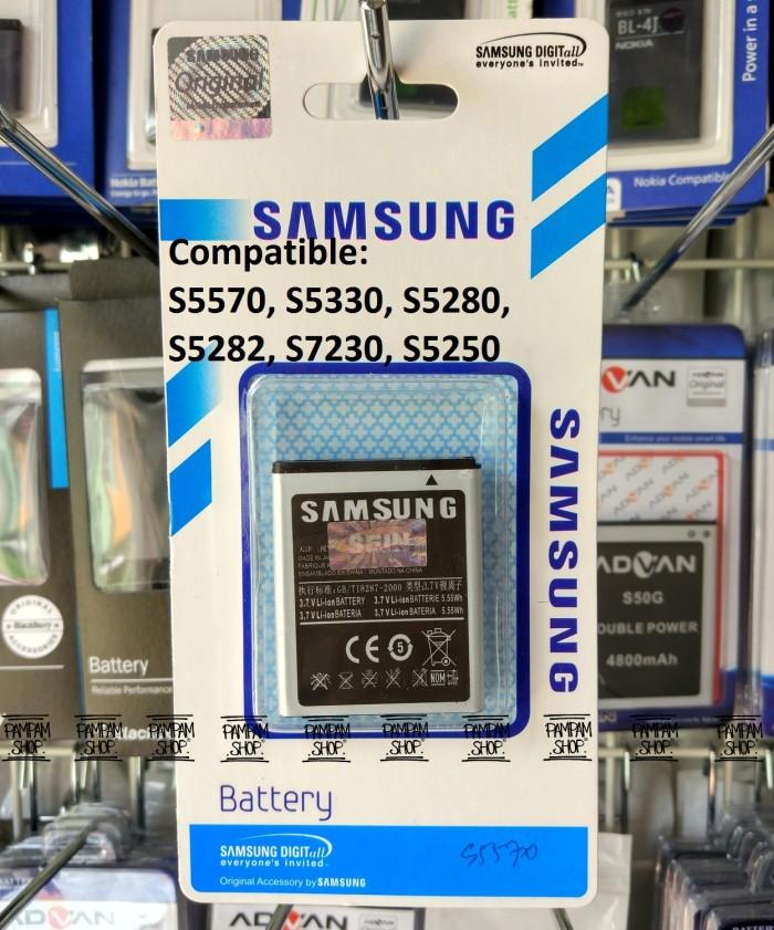 harga Baterai handphone samsung galaxy star duos s5282 original | battery Tokopedia.com