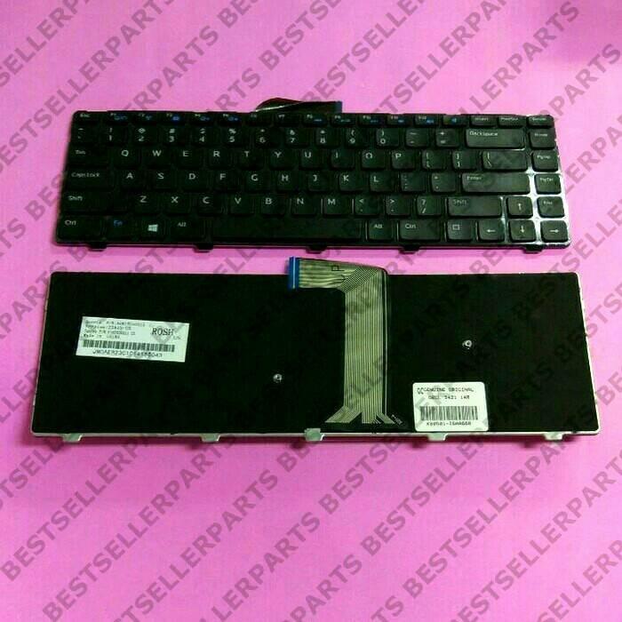 harga Original keyboard dell vostro 2421 inspiron 14 3421 14r 5421 Tokopedia.com