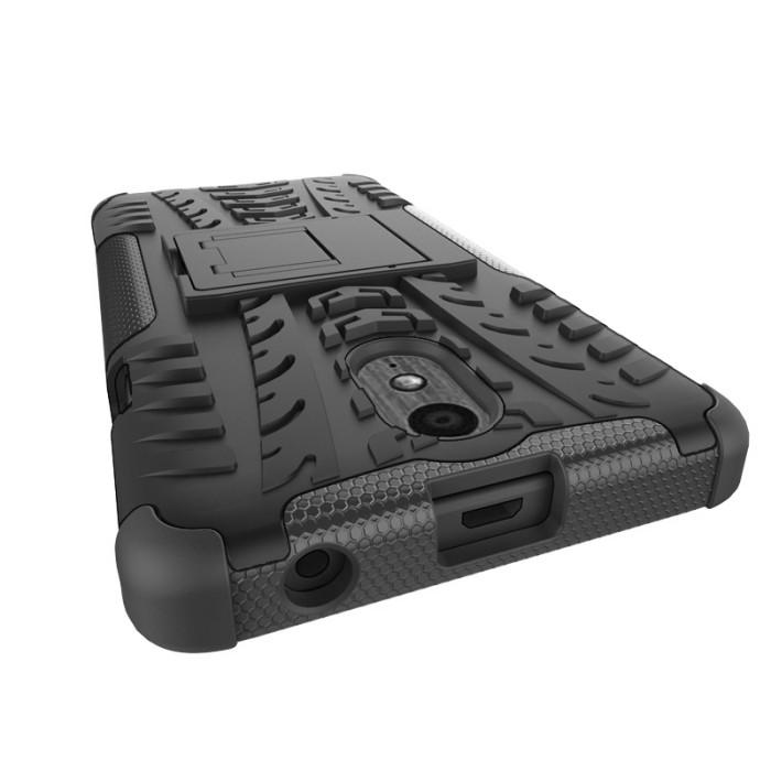 harga Hardcase back cover rugger impact armor kickstand lenovo vibe p1m Tokopedia.com