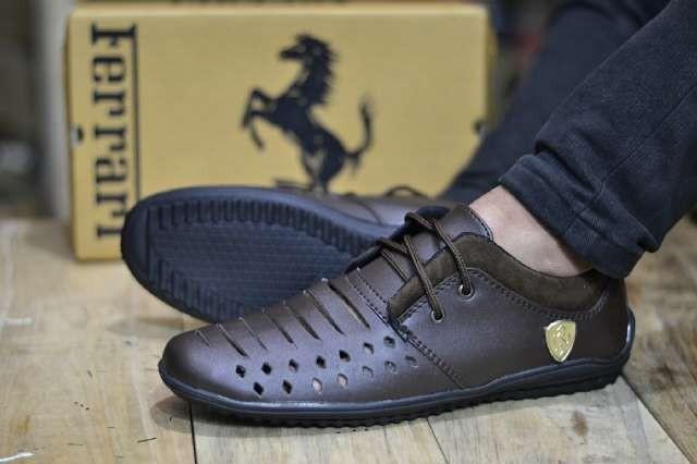 harga Sepatu casual ferari kerja kantor formal outdoor pria santai kets Tokopedia.com