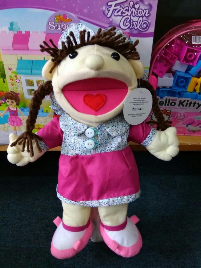 harga Boneka tangan anak kepang lucu Tokopedia.com