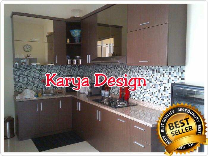 Kitchenset Kitchen Set Rak Lemari Dapur Apartement R