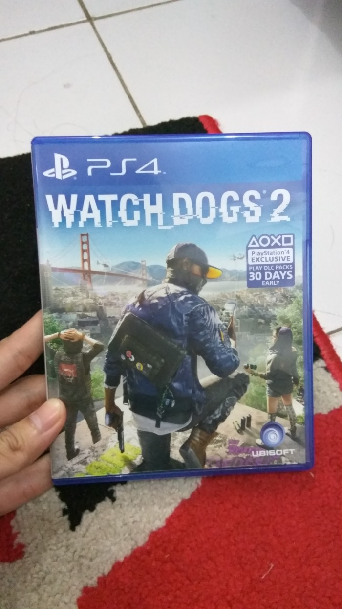 Bd Watch Dogs 2 Ps4 Kaset Game Reg 1