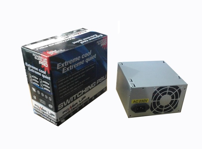 harga Power up power supplies (psu) 500watt Tokopedia.com
