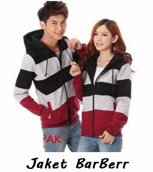 Jual Jaket Couple Keren Sweater Couple Kombinasi Barbeer Vhina de680bd325