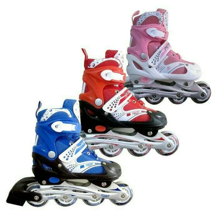 Jual Sepatu Roda Inline Skate POWER SUPER Kualitas Bagus Harga Yang ... 10f0c514ca