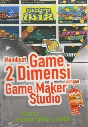 harga Membuat game 2 dimensi dengan game maker studio Tokopedia.com