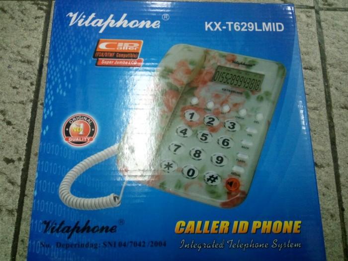 harga Pesawat telepon / telepon rumah vitaphone kx-t629 lmid Tokopedia.com