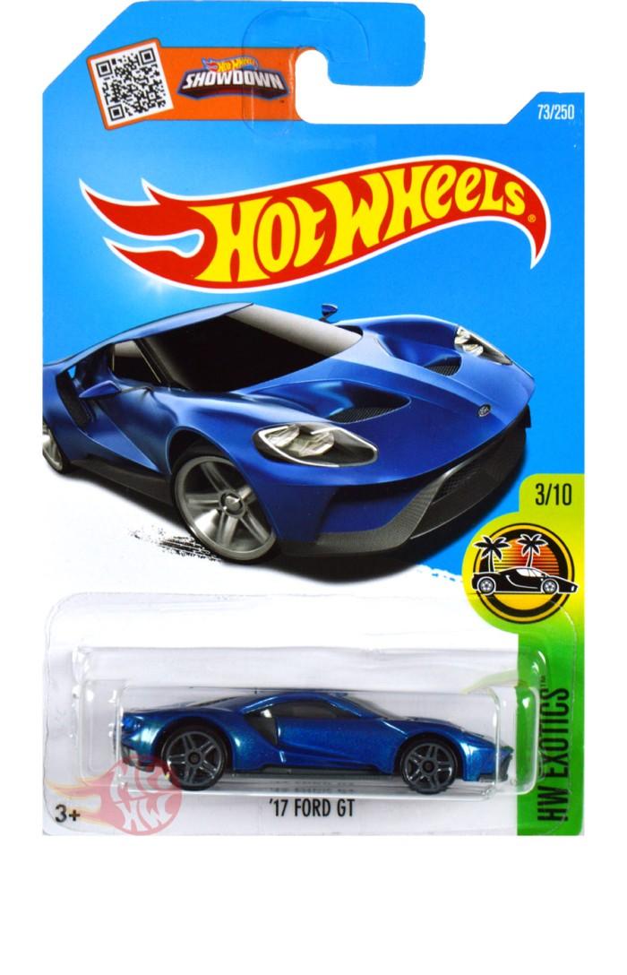 Ford Gt Biru Blue Hot Wheels Hw Hotwheels