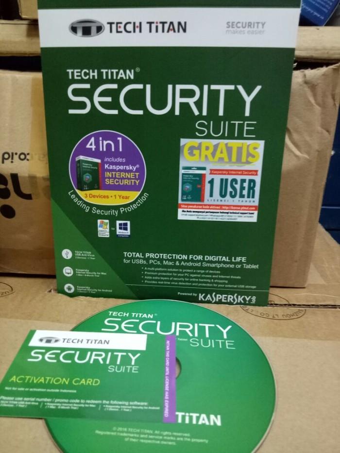 harga Tech titan security suite/ kaspersky internet security kis 3 Tokopedia.com