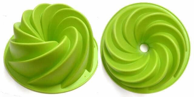 Cetakan puding cake bisa di panggang kukus silicone heritage bundt