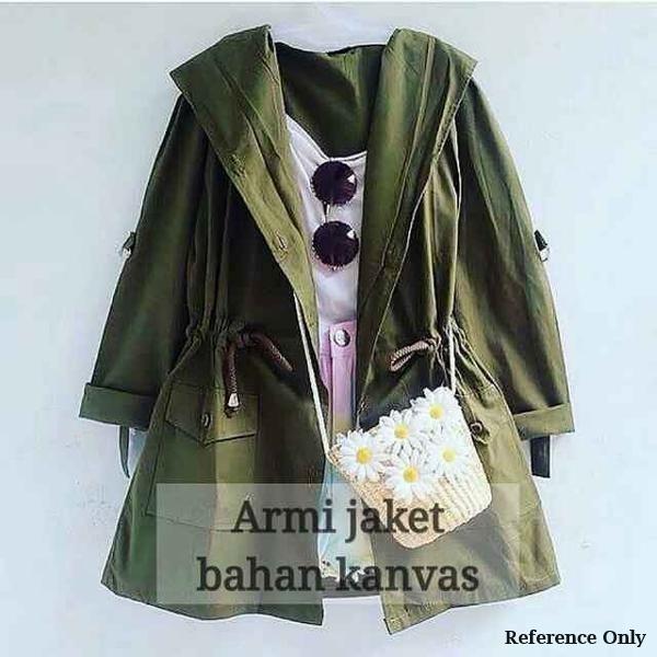 Jual Jaket Parka Army Wanita - NovrisyaRA  8c7a0b5123