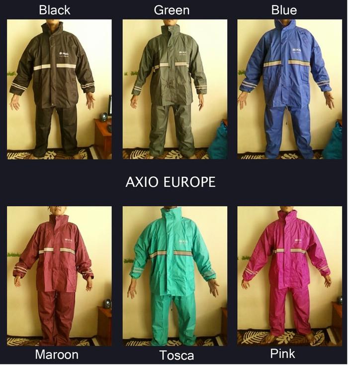 Distributor Jas Hujan Axio Europe 100% original Harga grosir