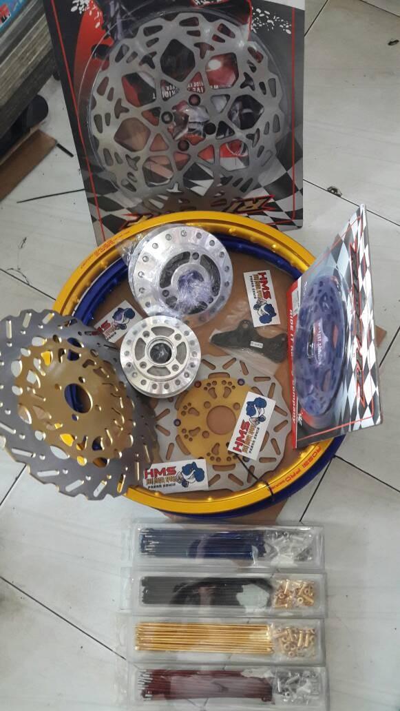 harga Velg rossi satria fu paket velg tromol jari jari cakram disc Tokopedia.com