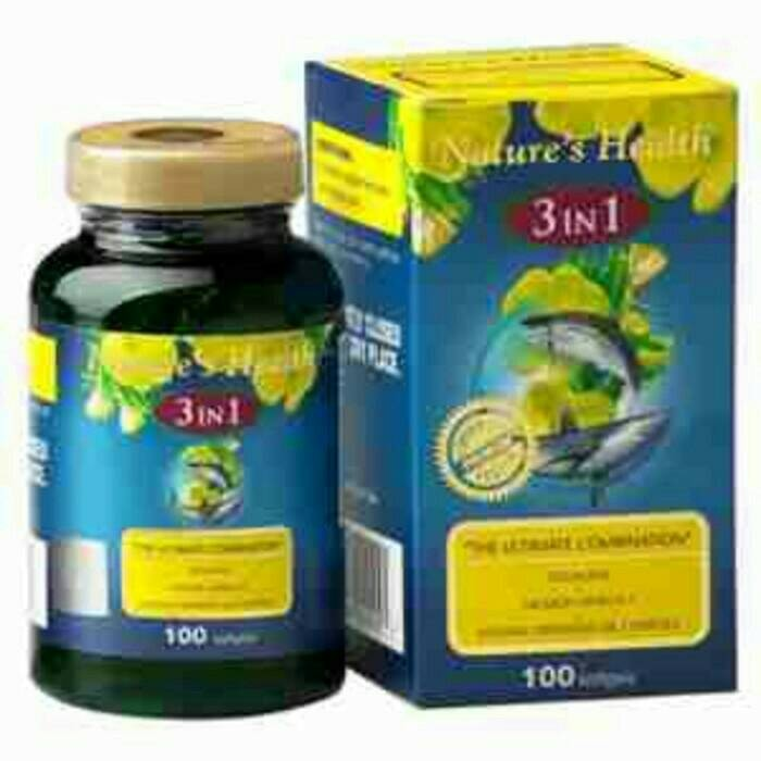 harga Nature Health 3 In 1 100 Sofgel Tokopedia.com