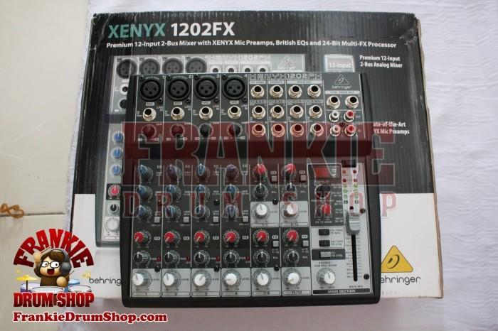 harga Behringer xenyx 1202fx - mixer analog premium 12 input 2 bus Tokopedia.com