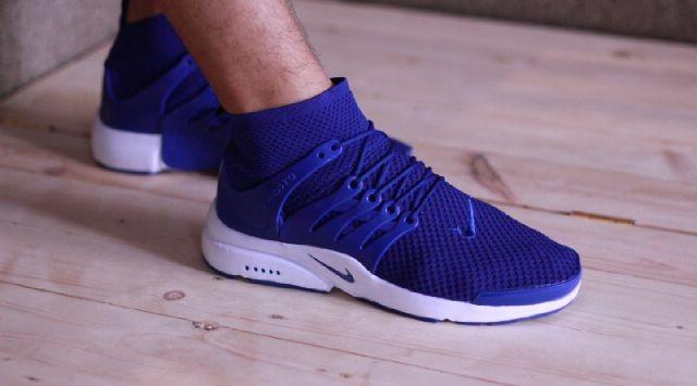 Sepatu Running Nike Air Presto Woven Navy Black Premium Original High 5e3d10ed7d