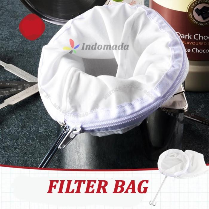 harga Saringan susu kacang almond/nut-filter/nut milk bag/coffee filter med Tokopedia.com