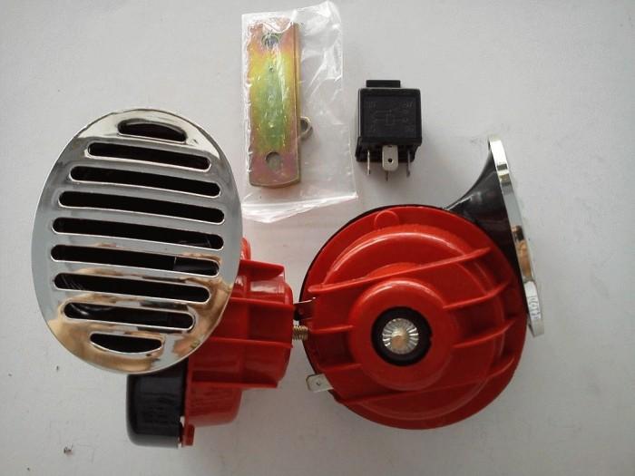 harga Klakson keong + klaksontelolet relay riley variasi aksesoris motor