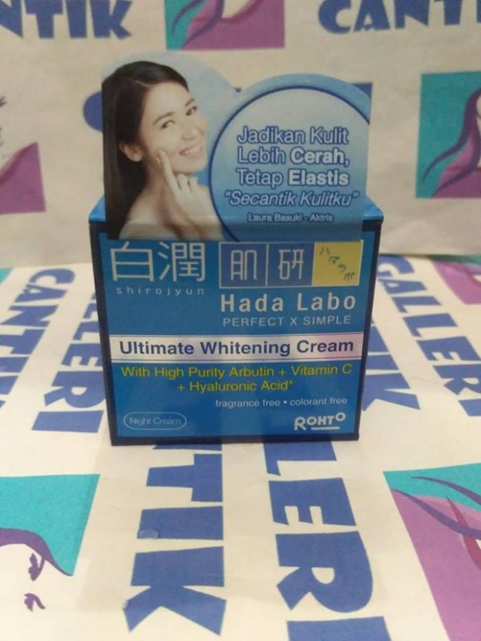 harga Hadalabo Shirojyun Ultimate Whitening Cream 40ml Tokopedia.com